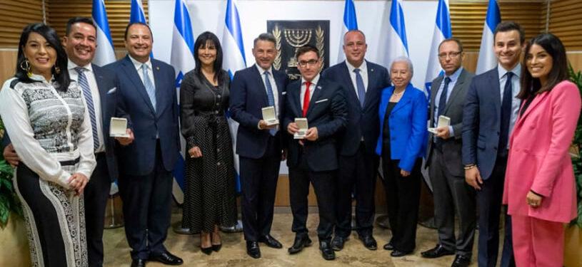 Reconocimiento a la alianza humanitaria entre Israel y Guatemala