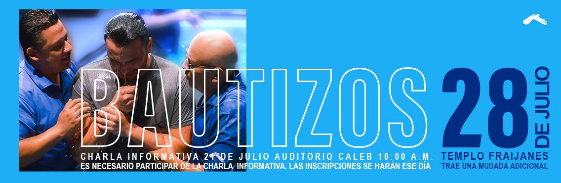 Bautizos Julio