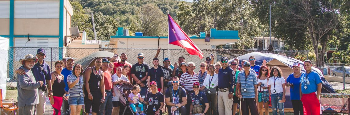 Ayuda humanitaria en Puerto Rico