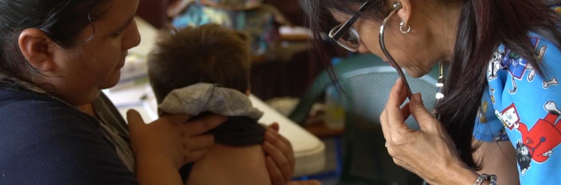 Comunidad Los Lirios resulta beneficiada con jornadas médicas