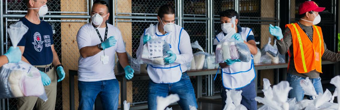 Ayuda y transformación social en medio de la pandemia