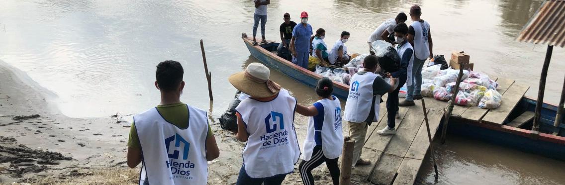 Ayuda para comunidades afectadas por Eta