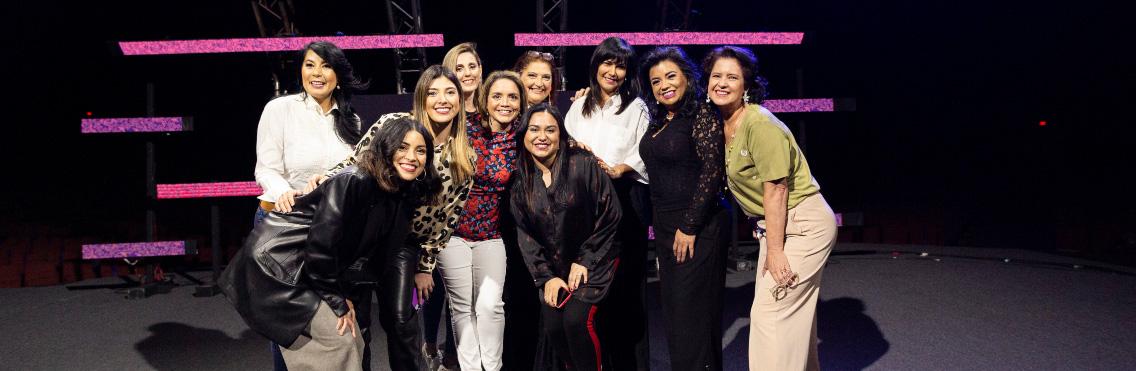 Primera reunión virtual del año para mujeres