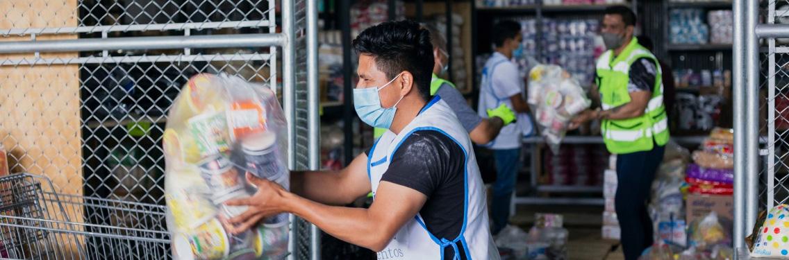 Banco de Alimentos continúa ayudando al prójimo