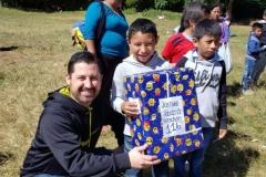 Cada niño recibió un regalo especial.