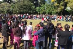 Niños y niñas de Cumbre de San Nicolás disfrutaron de actividades especiales.